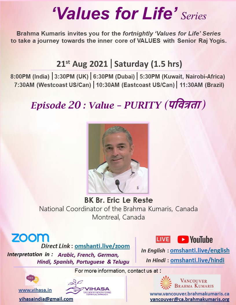 Values for Life Series   Ep: 20   Purity