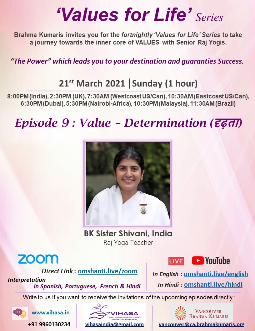 Values for Life Series | Ep: 9 | Value - Determination