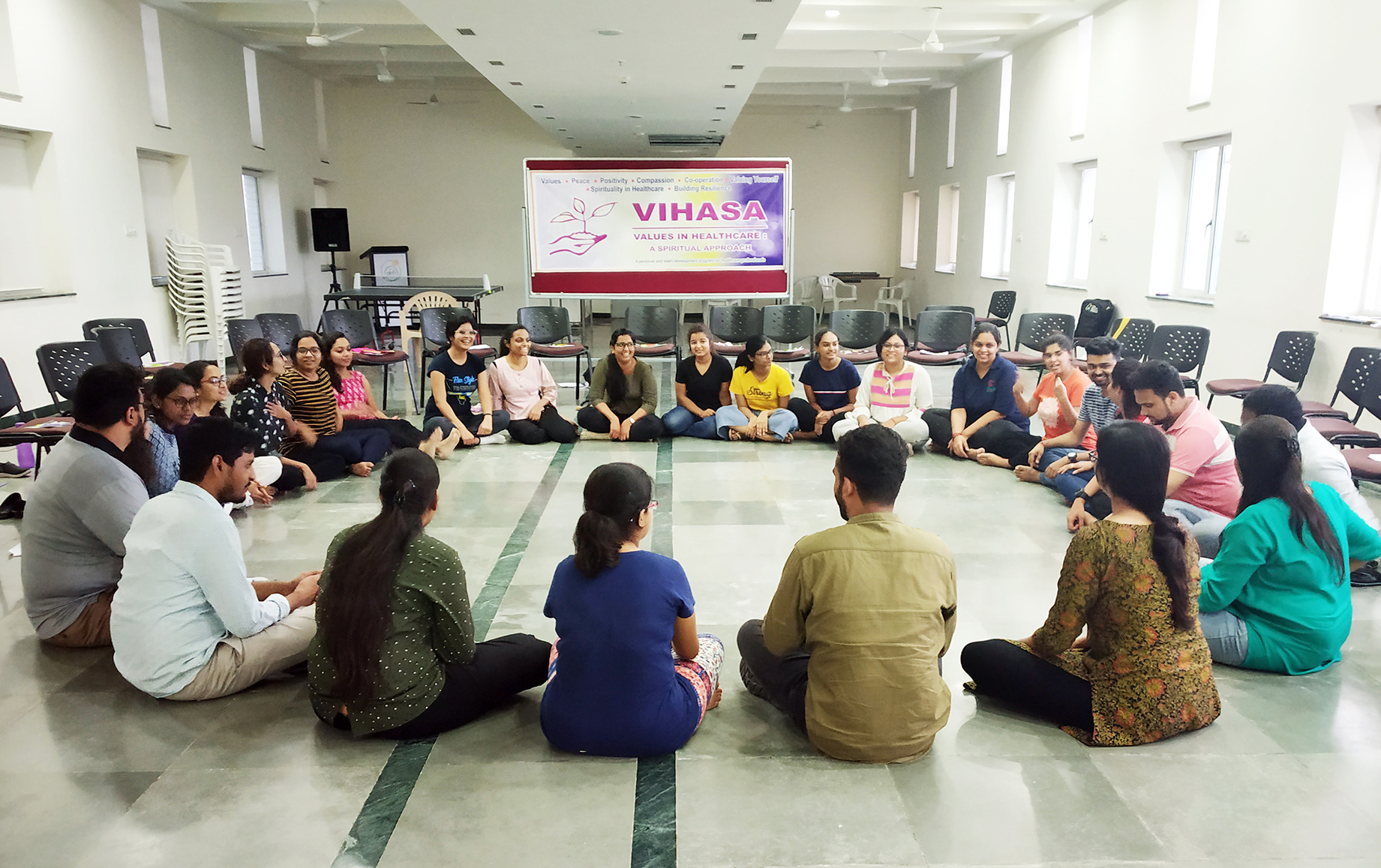 VIHASA session on Compassion