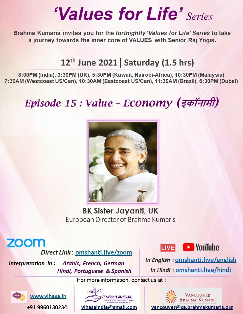 Values for Life Series | Ep: 15 | Economy